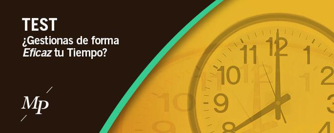 Test de Gestión efectiva del tiempo - Mireia Poch