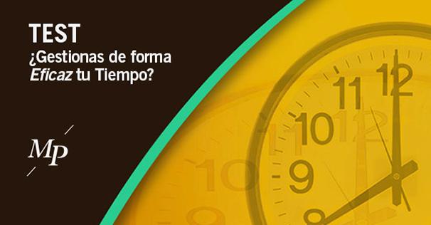 Test gestión eficaz del tiempo - Mireia Poch