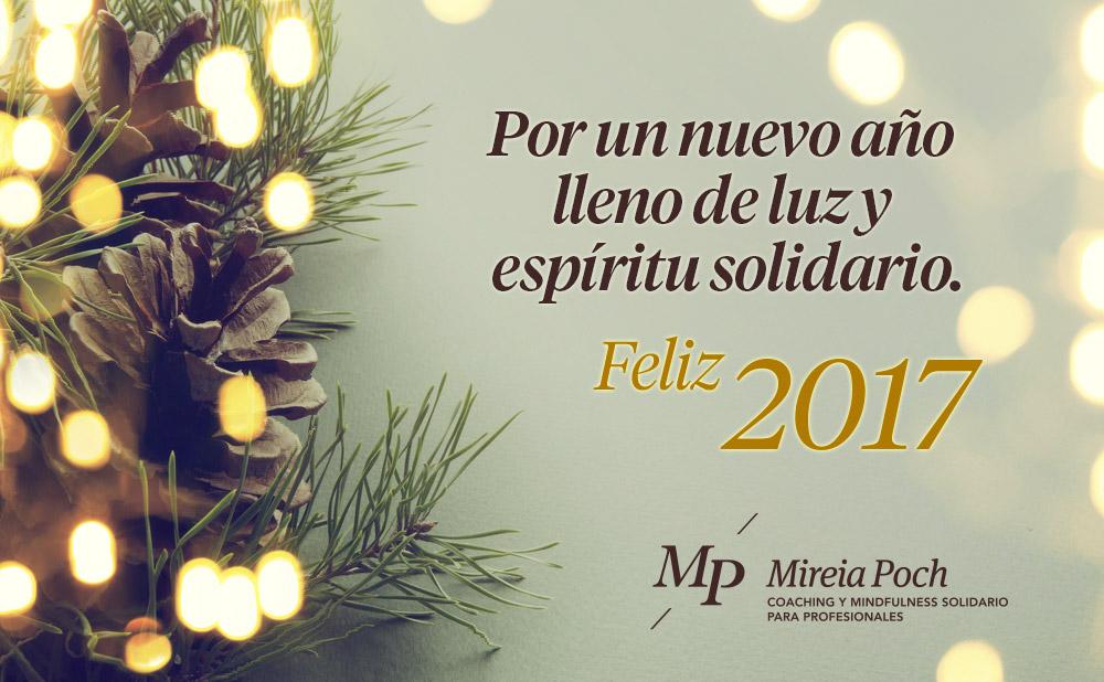 Feliz 2017 Mireia Poch