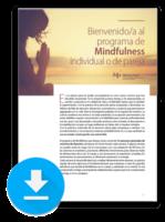 Descarga el documento explicativo del programa de Mindfulness