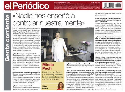 Entrevista Gente corriente El Periodico Mireia Poch